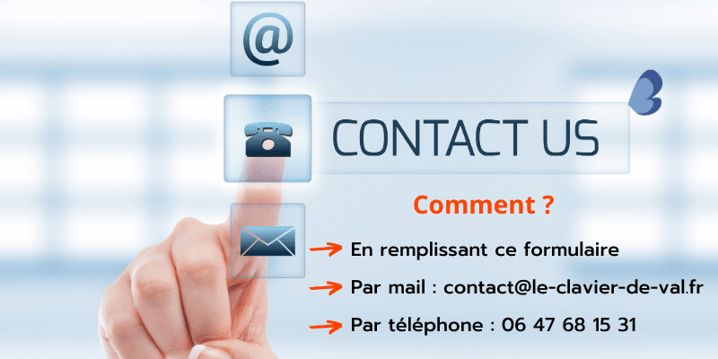 Comment me contacter