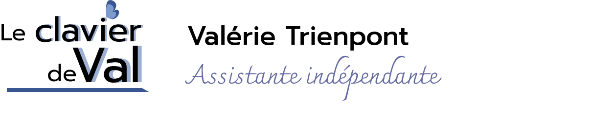 Logo Valérie Trienpont assistante indépendante